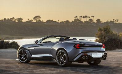 Aston Martin Vanquish Zagato, side view, car