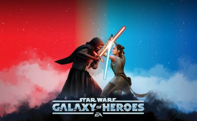 Star wars: galaxy of heroes, fight, game