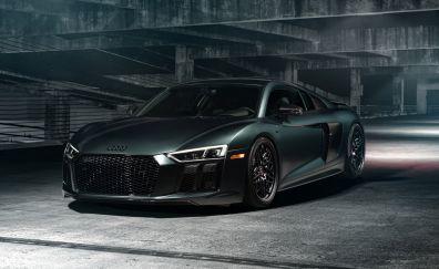 2017 Audi R8 V10, sports car, luxury car, 4k, 5k