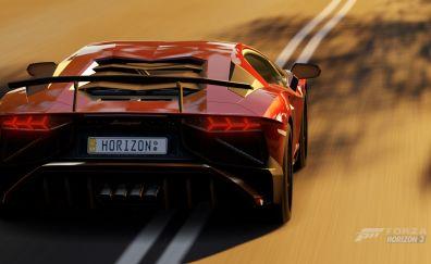 Lamborghini Aventador, Forza Horizon 3, 2016 game