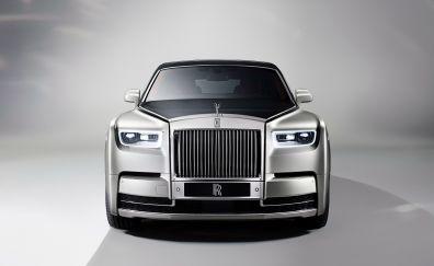 Rolls-Royce Phantom, front view, 2017 luxury car