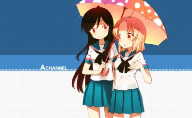 Yūko Nishi, Run Momoki, A Channel, anime girls