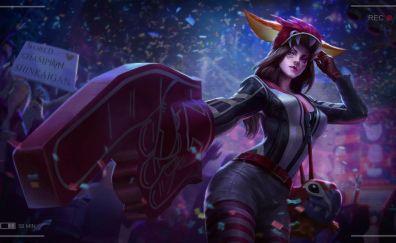 Catherine, vainglory, girl warrior, video game