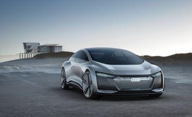 Audi's Aicon Concept, car