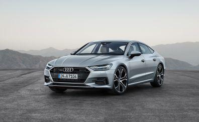 Audi A7 sportback quattro, luxury car, 4k