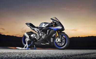 Yamaha YZF-R1M, 2018 bike, 4k