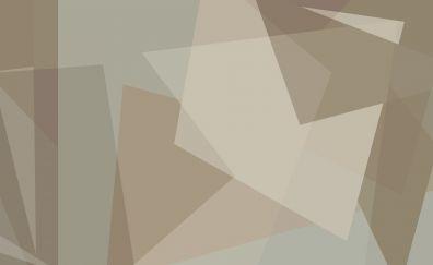 Gray & Cream color Minimal art