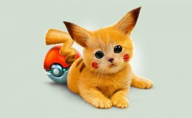 Anime, pikachu, pokemon, artwork