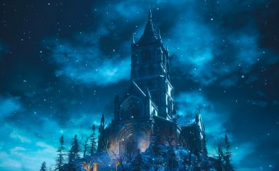 Dark souls III, video game, castle