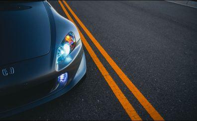 Honda S2000, front view, front bonnet