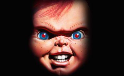 Chucky toy face