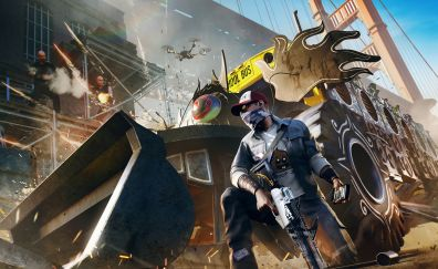 Watch dogs 2, 2017 video game