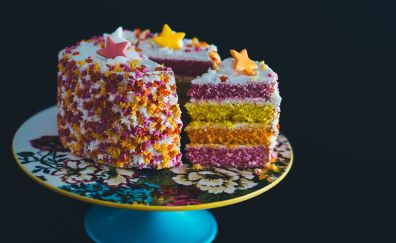 Cake, pastry, slices, baking