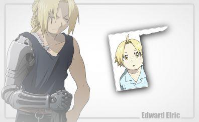 Edward Elric, Fullmetal Alchemist, anime boy