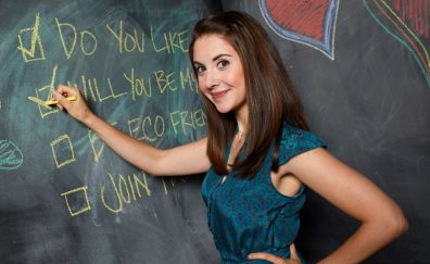 Community TV series, girl, Alison Brie