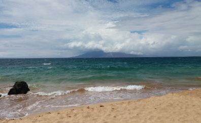 Beautiful beach of Hawaii