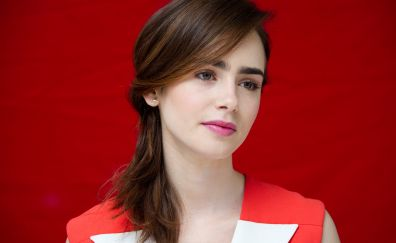 Beautiful Lily Collins, actress