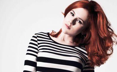 Katy B, red head, singer, celebrity