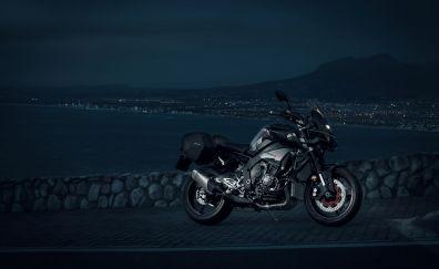 Yamaha MT-10 bike, race bike