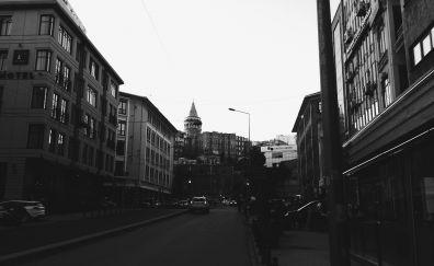 Galata kulesi of istanbul city wallpaper