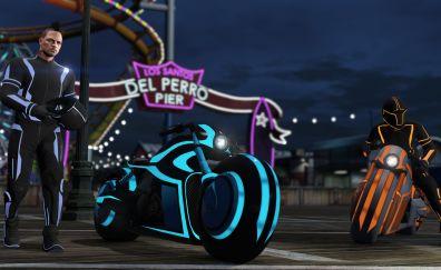 GTA V deadline mode online bikers video game