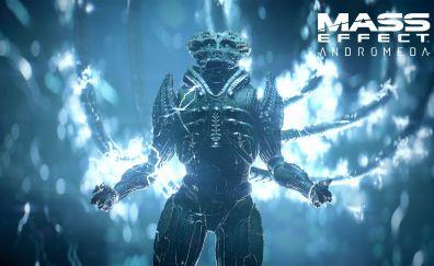 Mass Effect: Andromeda, video game, creature, alien