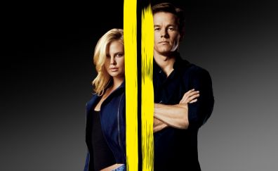 The Italian Job, movie, lead actors, Charlize Theron, Mark Wahlberg