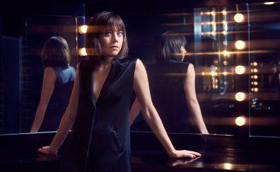 Aubrey plaza, reflections, actress