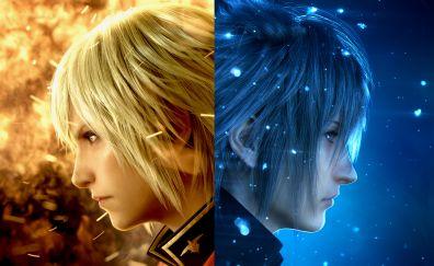 Ace, Noctis Lucis Caelum, final fantasy XV final fantasy, type-0, 4k, video game, face