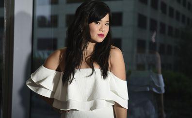 Kelly marie tran, dark hair, actress, 4k