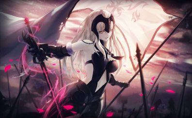 Jeanne d'arc, battlefield, fate series