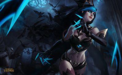 Hot, evelynn, league of legends, online game
