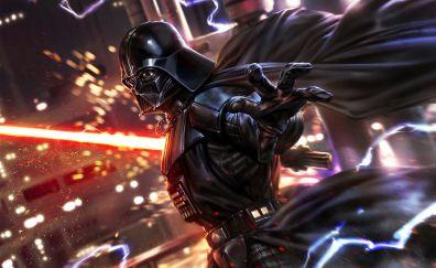 Fan art, star wars, Darth Vader