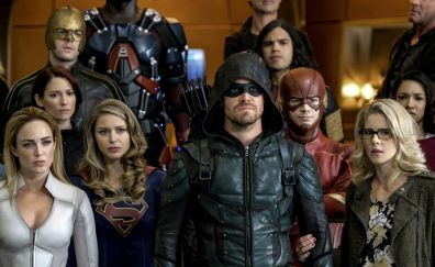 Supergirl, arrow, the flash, and legends of tomorrow, crossover, tv series