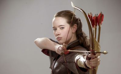 Anna Popplewell, Susan Pevensie, The Chronicles of Narnia, archer, movie, 5k