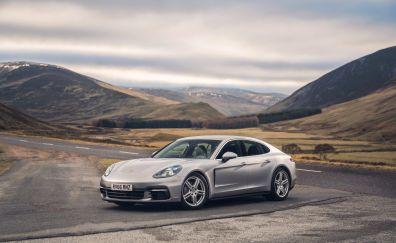 Porsche Panamera 4S, sports car, 4k