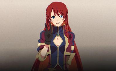 Celestia Yupitilia, Re:Creators, anime girl, red head, beautiful