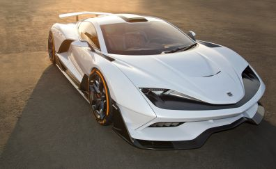 2019 Aria FXE, sports car, white