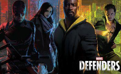 The Defenders, tv show, superhero, team, marvel studio