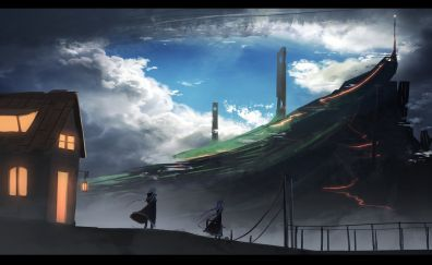 Millennium War Aigis, video game, anime