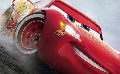 Lightning McQueen, Cars 3, movie, red car
