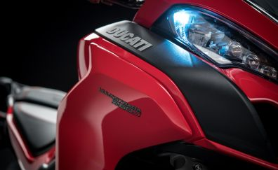 2018 Ducati Multistrada 1260, headlight, 4k
