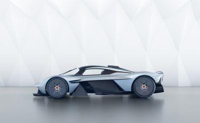 Aston Martin Valkyrie, Hypercar, supercar, side view