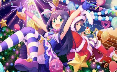 Fun, party, christmas, Anna Mochizuki, The Idolmaster Cinderella Girls