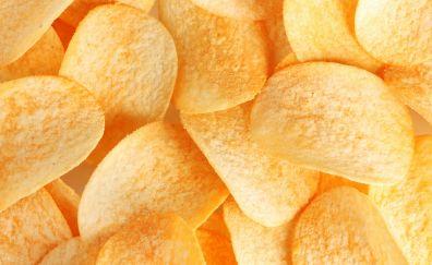 Pringles chips, food, close up