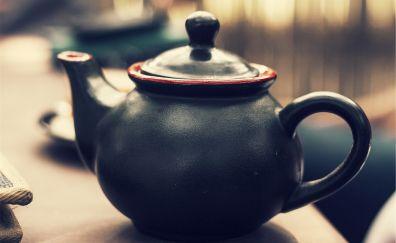 Ceramic Tea pot, close up
