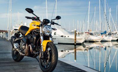 Ducati Monster 821, 2018, bike, 4k