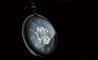 Old, classic watch, pocket watch