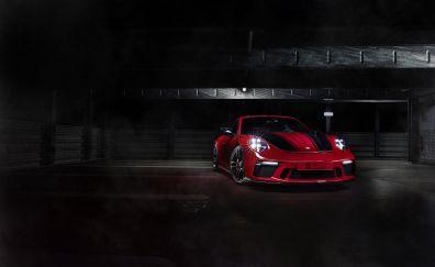 2018, Techart Porsche 911 GT3, sports cars, front