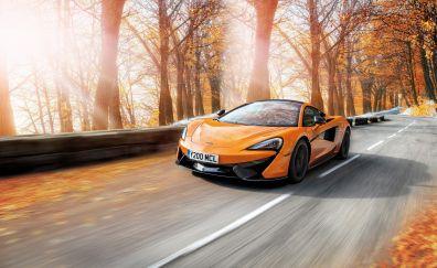 McLaren 570S Pirelli MC Sottozero 3 Winter, sports car, 4k